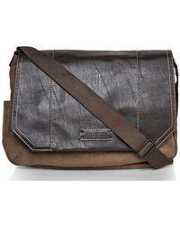 Marc New York - Olive  Brown Lindburgh Messenger Bag - Lyst