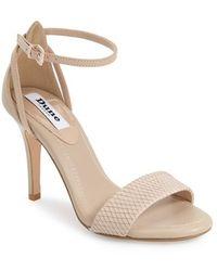 Dune | 'madeira' Ankle Strap Sandal | Lyst