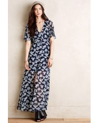 Anthropologie Phlox Maxi Dress - Lyst