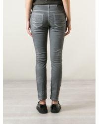 Tom Rebl - Tonal Snakeskin Jeans - Lyst