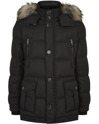 Boss Black T-daveras Quilted Parka - Lyst