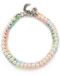 Venessa Arizaga - Pretty Choker Necklace - Lyst