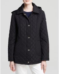 Calvin Klein Jacket - Diamond Quilted Single-Breasted - Lyst