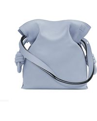 Loewe | Flamenco Knot Small Leather Shoulder Bag | Lyst