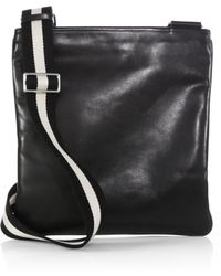 Bally Terys Leather Shoulder Bag - Lyst