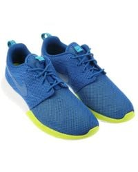 Nike Blue Roshe Run - Lyst