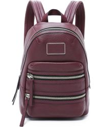 Marc By Marc Jacobs - Domo Biker Backpack - Pearl Blush - Lyst