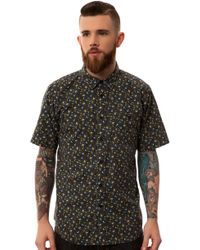Ezekiel The Field Work Ss Woven Buttondown - Lyst