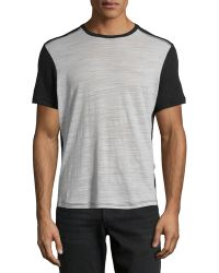 Howe Faded Night Slub Tee - Lyst