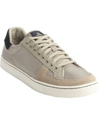 Original Penguin Khaki Canvas Sneakers - Lyst