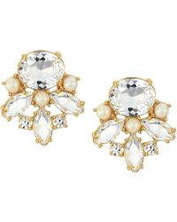 Kate Spade Say Yes Oopsie Daisy Mismatched Earrings Lyst