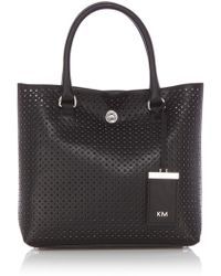 Karen Millen Km Perforated Collection - Lyst