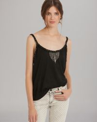 Maje Top Chain Braided Trim - Lyst