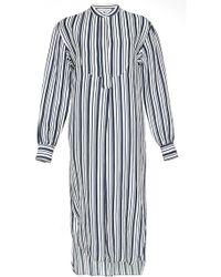 Apiece Apart Samara Shirt Dress In Stripe - Lyst