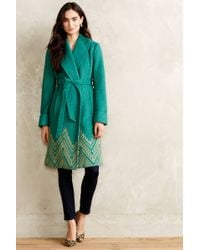 Plenty by Tracy Reese - Stitched Jali Coat - Lyst