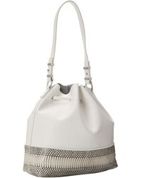 Vince Camuto White Leila Drawstring - Lyst