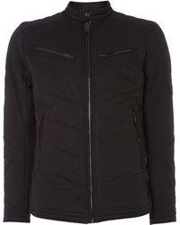 Diesel Jmori Cotton Biker Jacket - Lyst