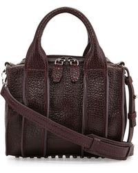 Alexander Wang Insideout Rockie Small Crossbody Satchel Bag - Lyst