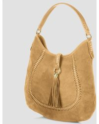 Ralph Lauren Lauren Hobo Indian Cove Suede - Lyst