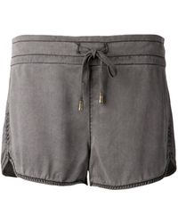 Siwy Gray Audrina Shorts - Lyst