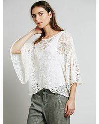 Free People Windows To The Soul Pullover - Lyst