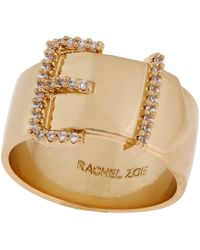 Rachel Zoe Belt Buckle Ring - Lyst