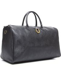 Dior Trotteur Coated Canvas Duffle Bag - Lyst