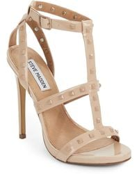 Steve Madden Stay Studded Stiletto Sandals - Lyst