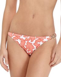 Shoshanna Reefprint Ringside Swim Bottom - Lyst