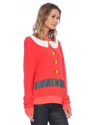 Wildfox Santa and Elf Sweater - Lyst