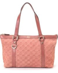 Gucci Pink Tote Bag pink - Lyst