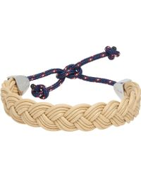Miansai Beige Nantucket Bracelet - Lyst