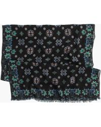 J.Crew | Mirrored Floral Scarf | Lyst
