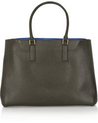 Anya Hindmarch Ebury Large Textured-leather Tote - Lyst