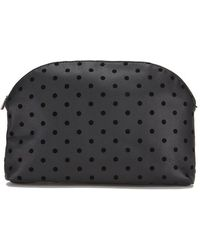 Maison Scotch - Women's Dots Toiletry Bag - Lyst