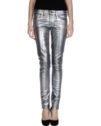 Juicy Couture Denim Trousers blue - Lyst