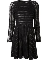 Alice By Temperley Dot Rosette Dress - Lyst