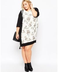 Carmakoma - Plus Size Calca Shift Dress - Lyst