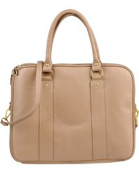 Pierre Darre' Large Leather Bag - Lyst