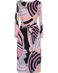 Emilio Pucci Kneelength Dress - Lyst