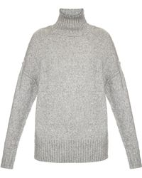 NLST - High-neck Ribbed-knit Sweater - Lyst