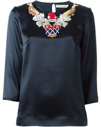 Mary Katrantzou Spellbound Top - Lyst