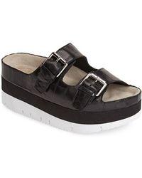 Ash 'Viola' Platform Sandal black - Lyst