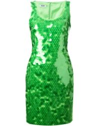 Moschino Cheap & Chic Sequinned Dress - Lyst