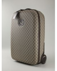 Gucci Signature Monogram Luggage - Lyst
