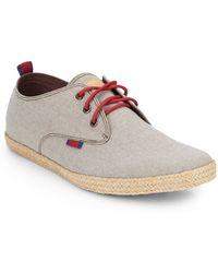 Ben Sherman Pril Canvas Derby Shoes - Lyst
