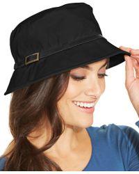 Nine West Canvas Bucket Hat black - Lyst - nine-west-black-canvas-bucket-hat-product-0-039667274-normal