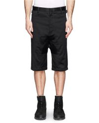 Helmut Lang Dropcrotch Loose Shorts - Lyst
