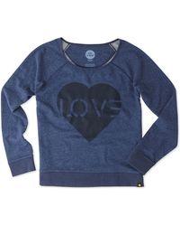 Life Is Good. - Love Sweatshirt - Lyst