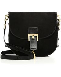 Marc Jacobs | Ns Decoy Suede Crossbody Bag | Lyst